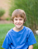 Cute Little Boy Smiling Royalty Free Stock Image