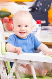 Cute little boy smiling Stock Image
