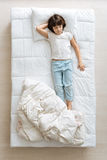 Cute little boy about to wake up Royalty Free Stock Image