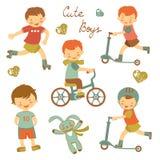 Cute little boys Stock Photo