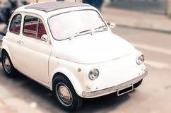 Cute little car Royalty Free Stock Photo