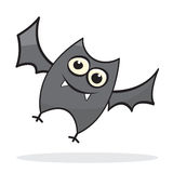 Cute little cartoon bat Royalty Free Stock Photography