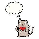 Cute little cat cartoon Royalty Free Stock Image