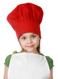 Cute little chief cook Royalty Free Stock Image