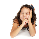 Cute little child Royalty Free Stock Images