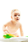 Cute little child baby Royalty Free Stock Image