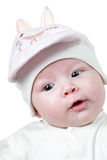 A cute little child. The baby could be boy or girl Royalty Free Stock Photography