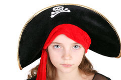 Pirate girl Royalty Free Stock Photos