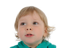Cute little child smiling Stock Photography
