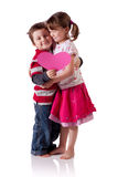 Valentine's children Royalty Free Stock Image