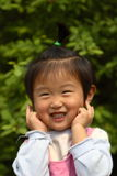 Cute little Chinese girl Stock Photos