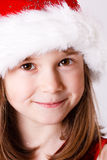 Cute little christmas girl Royalty Free Stock Photo