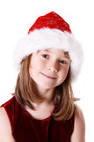 Cute little christmas girl Royalty Free Stock Photos