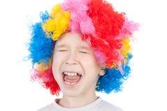 Cute little clown Stock Image