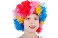 Cute little clown Stock Photos