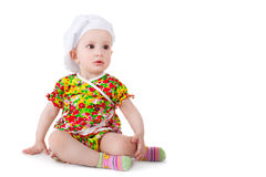 Cute little cook Royalty Free Stock Images