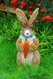 Cute little easter bunny easter display Royalty Free Stock Photo