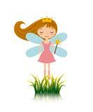 Cute little fairy character Stock Photos