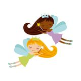 Cute little fairy character Stock Photo