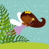 Cute little fairy character Royalty Free Stock Images