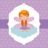 Cute little fairy character Stock Photography