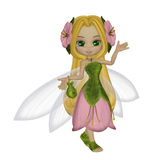 Cute little fairy Royalty Free Stock Images