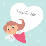 Cute little fairy design Royalty Free Stock Photos
