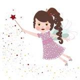 Cute little fairy tale vector illustration Stock Photo