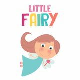 Cute little fairy Stock Photography