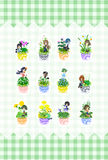 The cute little flowerpot Royalty Free Stock Images