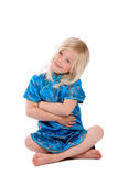 Cute little four year old stock photography