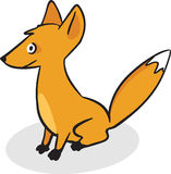 Cute little fox Stock Photo