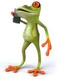 Cute little frog vector illustration