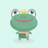 Cute little frog. Royalty Free Stock Image