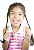 Cute little girl 011 Royalty Free Stock Photo