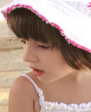 Cute little girl. Close-up of a little girl Royalty Free Stock Photo