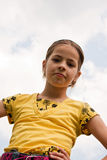 A cute little girl Royalty Free Stock Photo