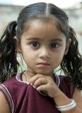 Cute little girl. Portrait shot of cute little girl Stock Photography