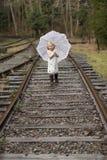 Cute little girl Stock Image