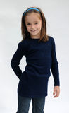 Cute little girl. Cuter little girl dressed in blue Stock Image