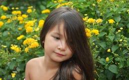 cute little girl Stock Photo