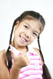 Cute little girl 32 Royalty Free Stock Photo