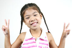 Cute little girl 33 Royalty Free Stock Photography