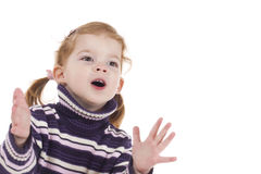 Free Cute Little Girl Royalty Free Stock Image - 4436046