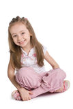 Cute little girl Stock Image
