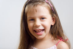 Cute little girl. Royalty Free Stock Photos