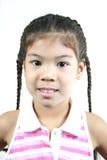 Cute little girl 80 stock photo