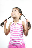 Cute little girl 87 Royalty Free Stock Images