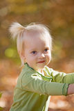 Cute Little Girl stock images