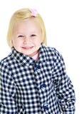Cute little girl in autumn coat. Stock Image